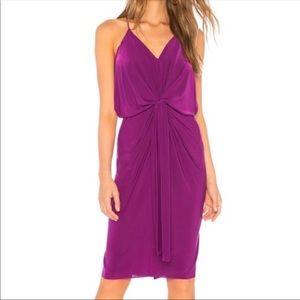Misa Los Angeles Domini Magenta Dress Sz S
